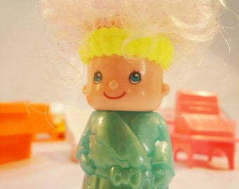 Crazy Pin y Pon Hairdresser Set.80s Toy