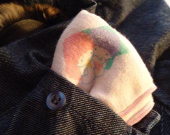 Little Twin Stars handkerchief.1976