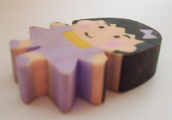 3D Chibi Maruko chan Cute Eraser.80s