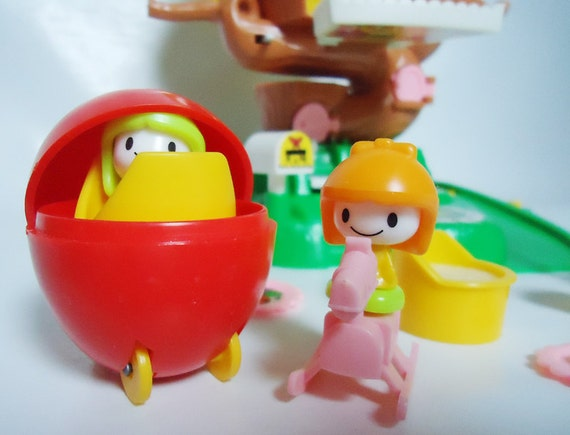 Rare Toys From The 80s : Rare geyperland tree house tomy toy s