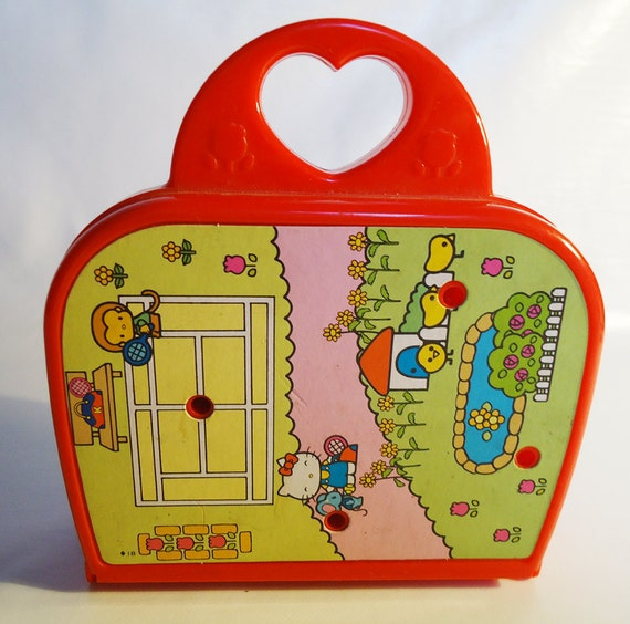 Reserved for an angel. thanks.1976 Sanrio Hello Kitty Play Set