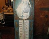SALE- Vintage -Schlitz Beer Thermometer