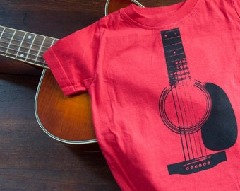 Acoustic Guitar Organic Cotton Shirt (2T)