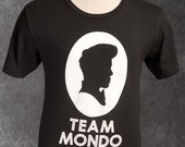 Large Black Men's Team Mondo T-Shirt