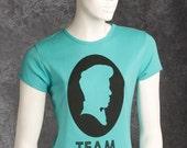 Medium Teal Womens Team Mondo T-Shirt