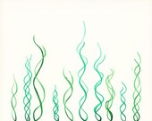Mini Print of Abstract Illustration - Grow, Rise, It's In Your DNA