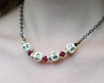 "Necklace -- ""Alas, Four Yoricks"""