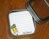 Teacher gift / Back to school / Lunch box note - Set of 60 mini cards in 3 designs