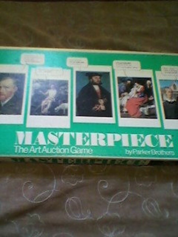 1976 Masterpiece Game by Parker Brothers