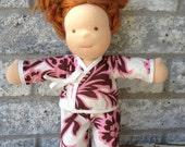 waldorf CHARM KIMONO for 10 12 15 inch girl doll