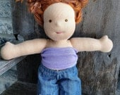 waldorf  TUBE TOP for doll 10 12 15 inch