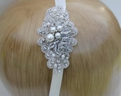 Wedding headband hair accessory Bridal headband hair jewelry Wedding hair jewelry Bridal hair accessory Bridal headpiece Wedding Hair piece