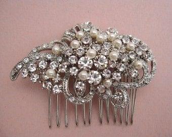Wedding hair comb bridal hair accessory wedding hair jewelry bridal hair comb pearl wedding comb bridal accessory wedding headpiece bridal