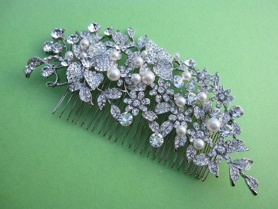 Wedding hair accessories hair comb pearl Bridal hair comb Wedding hair jewellery Bridal comb Wedding hair piece Bridal hair accessories COMB
