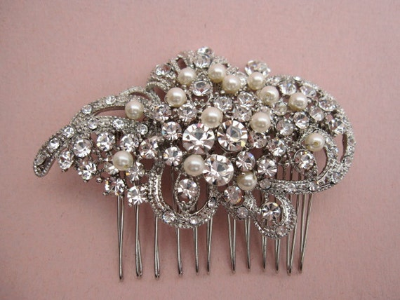 Wedding hair comb bridal hair accessory wedding hair jewelry bridal hair comb pearl wedding comb bridal accessory wedding headpiece bridal