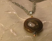 Agate Necklace  No 307