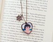 Eric - valentine cameo necklace