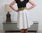 """Retro chic 'Paper doll""""  polka dot 50's dress"""