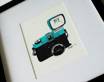 Diana Camera- 5x7 Print