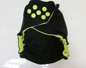Upcycled One-Size Wool Diaper Cover