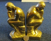 SUPER SALE Thinker Bookends Free shipping