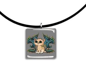 Darkwing Frixie, Friendly Frisky Feline Pixie, fairie cat, Adorable big eyed kitten, fairy wings