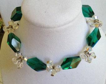 Antique Crystal Bracelet