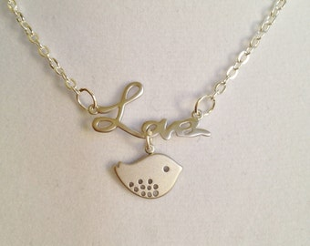 Bridal Love Necklace