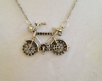 Bike Ride Necklace