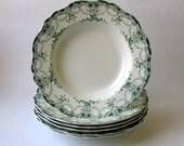 Royal Bassett Porcelain Salad Plates - Set of 6