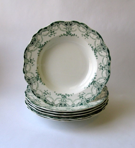 Royal Bassett Porcelain Salad Plates - Set of 6