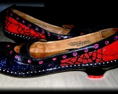 BORN Magick Mary Janes  Ruby Slippers