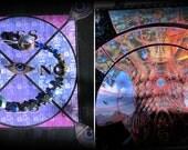 Quartz Pendulum Energy Set OOAK Magickal Divination FREE SHIP