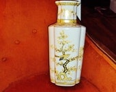 Vintage Asian Inspired Bird Vase