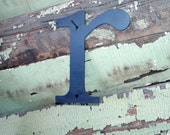 """Lowercase Industrial Metal Letter """"r"""" With FREE Shipping"""