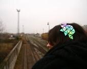Geometric shiny headband