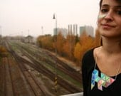 Shiny geometric necklace