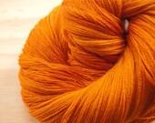 Holiday Sale - Free Shipping - Honey Pie Merino Silk Lace Yarn