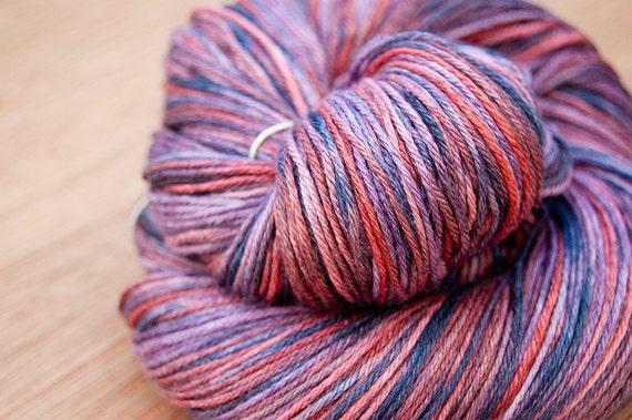 Fire Cracker -  SW Merino Silk Sock Yarn