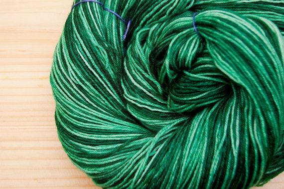 Leaf (Self Striping) -  SW Merino/Nylon Sock Yarn