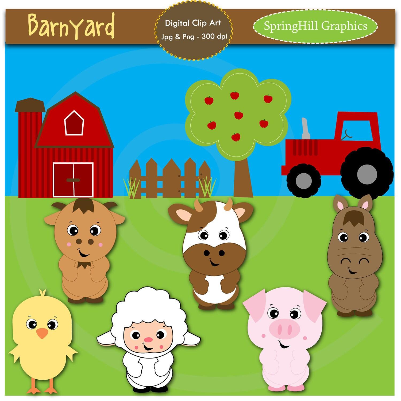 Barnyard Animals Clipart Free