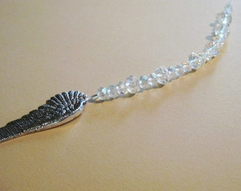 Angel Wing and Swarovski Crystal Suncatcher