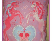 RESERVED FOR Lauri- Unicorn Fantasy Pink Pillows