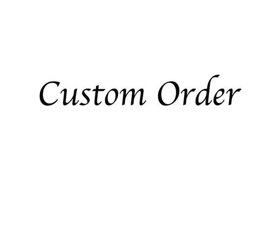 Custom listing for aaliya nota