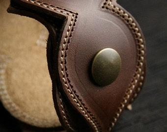 Leather Bracelet, Leather Cuff, Wrap Cuff:  Madeline Cuff