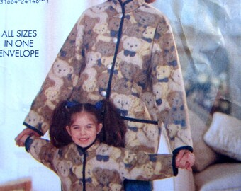 Butterick 4642 Child's Jacket Tapered Pants Sewing Pattern Size 2 to 6x, Breast 21 to 25 1/2.