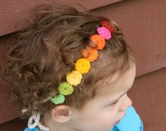 Over the Rainbow head band