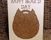 Sean Morris Happy Bear'd Day Card Personalised