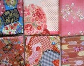A sampler pack of Japanese cotton - pink