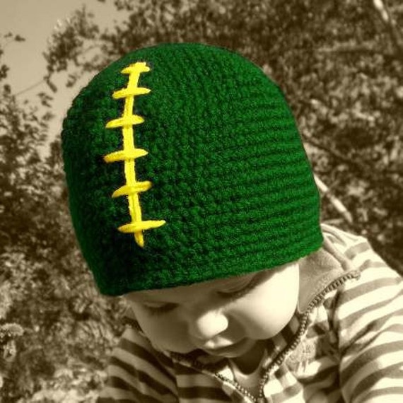 GREEN BAY Packers Football Crochet Hat / Beanie Cap